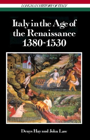 9780582483590: Italy in the Age of the Renaissance, 1380-1530 (Longman History of Italy)