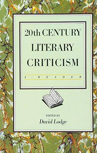 9780582484221: Twentieth Century Literary Criticism: A Reader