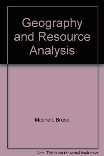 9780582487338: Geography and Resource Analysis
