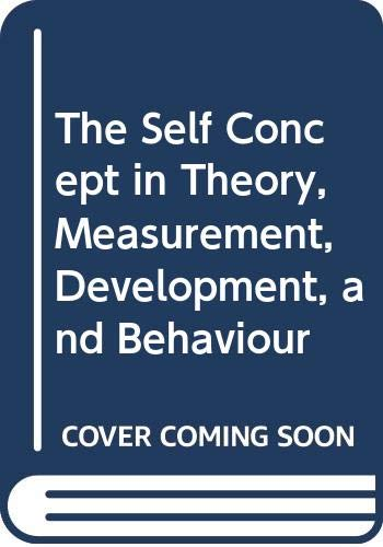 The Self Concept in Theory, Measurement, Development,: Burns, R. B.