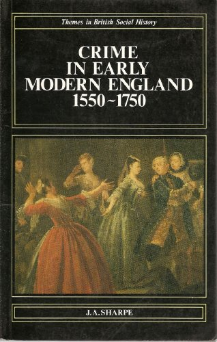 9780582489943: Crime in Early Modern England, 1550-1750