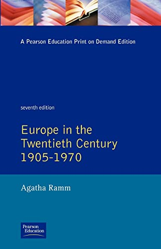 Grant and Temperley's Europe in the Twentieth Century 1905-1970: Europe in the Twentieth Century,...