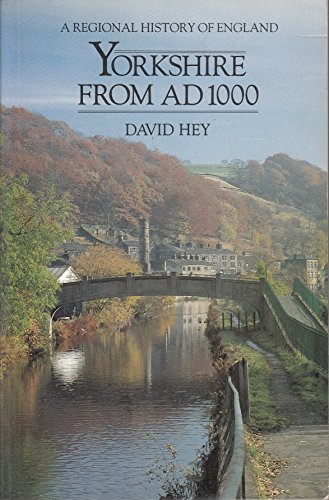 9780582492127: Yorkshire from Ad 1000 (Regional History of England)