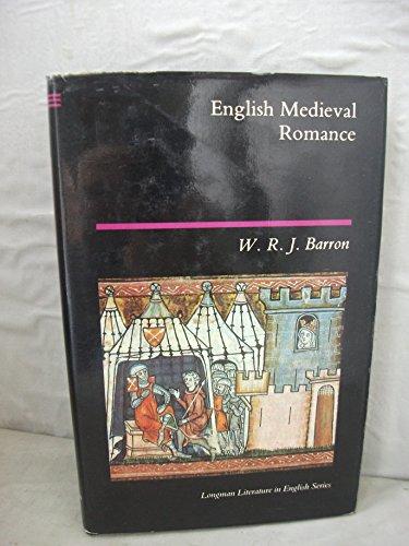 9780582492219: English Medieval Romance (Longman Literature In English Series)