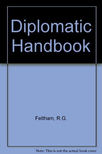 9780582493391: Diplomatic Handbook