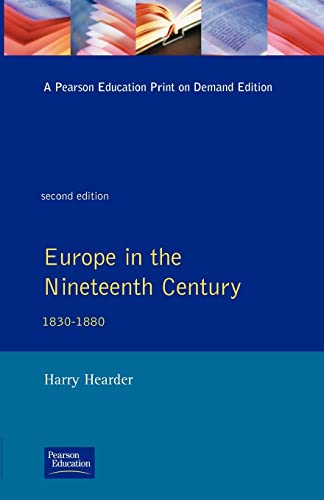 9780582493858: Europe in the Nineteenth Century (General History of Europe)