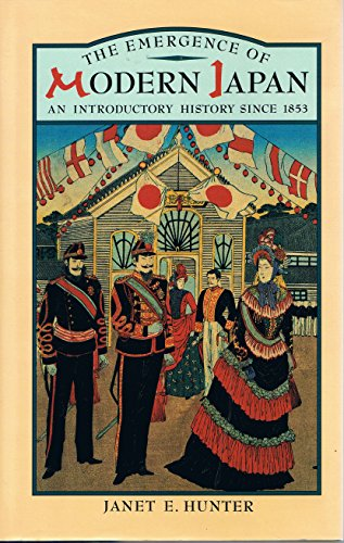 9780582494077: The Emergence of Modern Japan: An Introductory History Since 1853