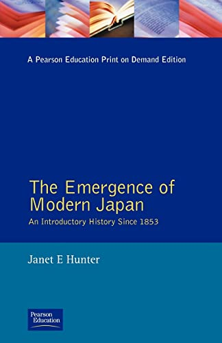9780582494084: The Emergence of Modern Japan: An Introductory History Since 1853