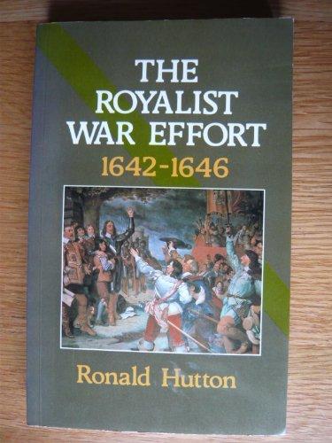 9780582494114: Royalist War Effort, 1642-46