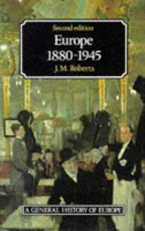 9780582494145: Europe, 1880-1945