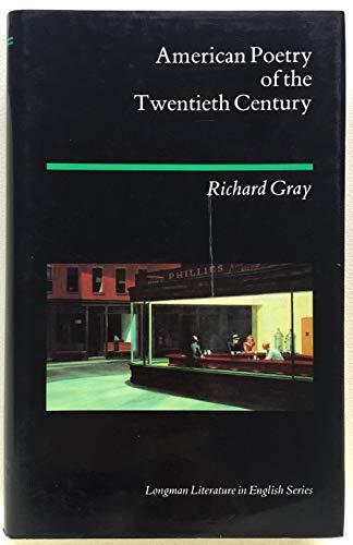 9780582494374: American Poetry of the Twentieth Century (Longman Literature in English Series)