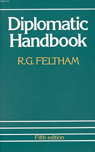 9780582494619: Diplomatic Handbook