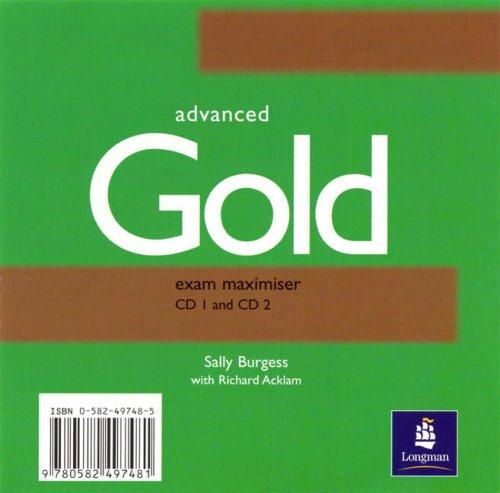9780582497481: CAE Gold Maximiser 1-2: CD 1-2