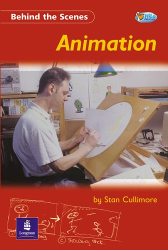 9780582497689: Behind the Scenes:Animation Non-Fiction 32 pp (Pelican Hi Lo Readers)