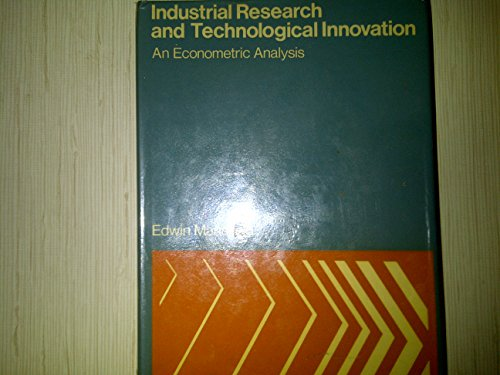 9780582500075: Industrial Research and Technological Innovation: An Econometric Analysis