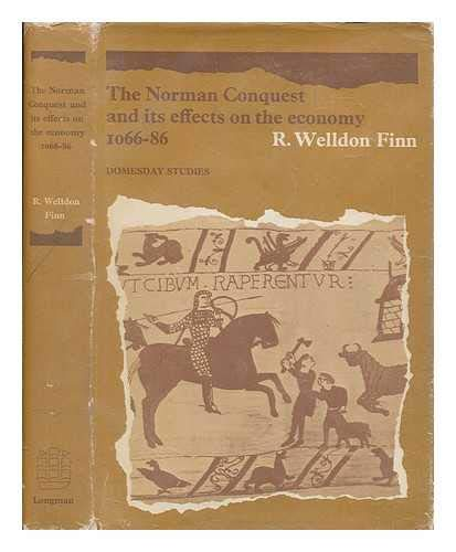 9780582502314: Norman Conquest and Its Effects on the Economy, 1066-86 (Domesday Study)