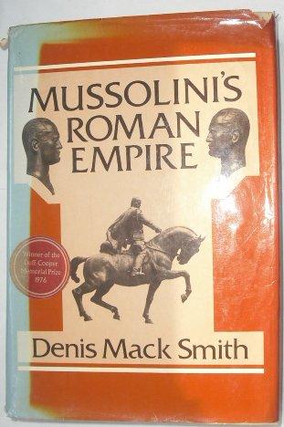 9780582502666: Mussolini's Roman Empire