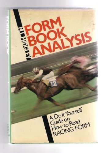 9780582503175: Form Book Analysis