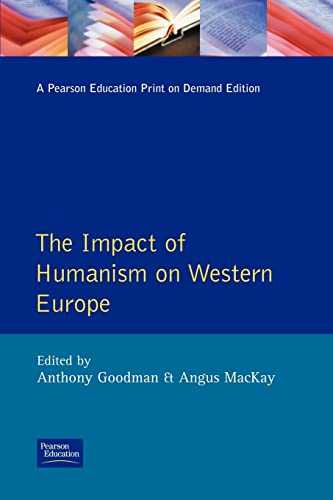 9780582503311: The Impact of Humanism on Western Europe