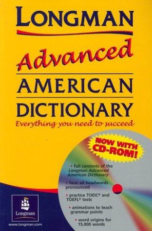 9780582504097: Longman Advanced American Dictionary & CD