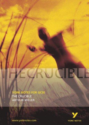 9780582506275: The Crucible (York Notes)