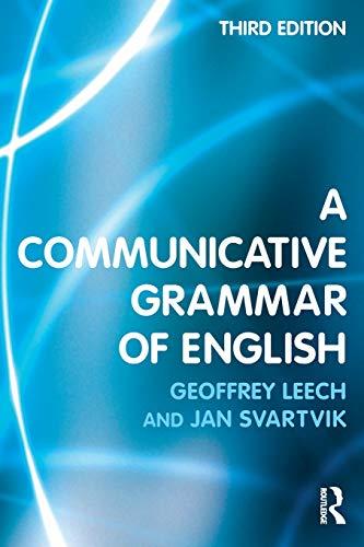 9780582506336: A Communicative Grammar of English
