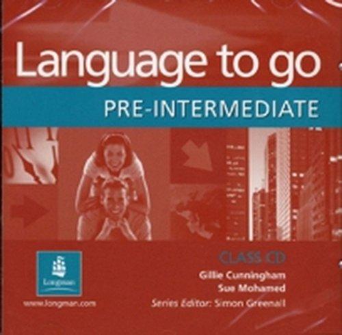 9780582506572: Language to Go: Pre-Intermediate Class CD