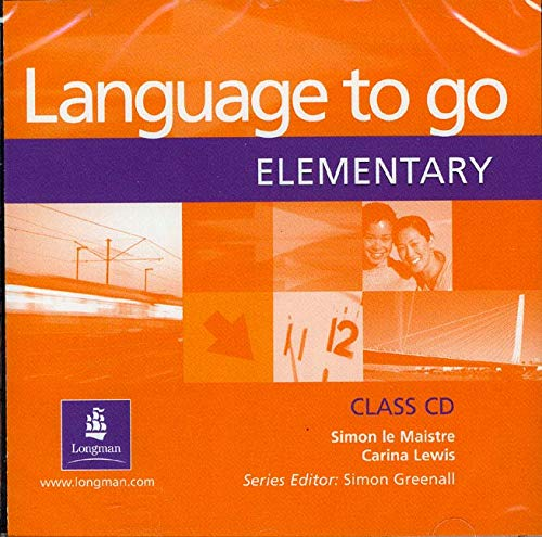 9780582506596: Language to Go: Elementary Class CD