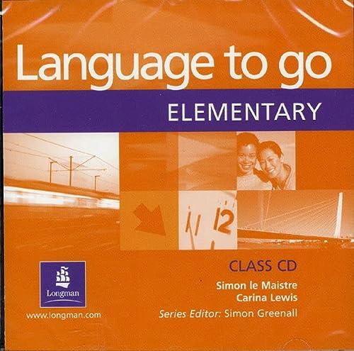 9780582506596: Language to Go