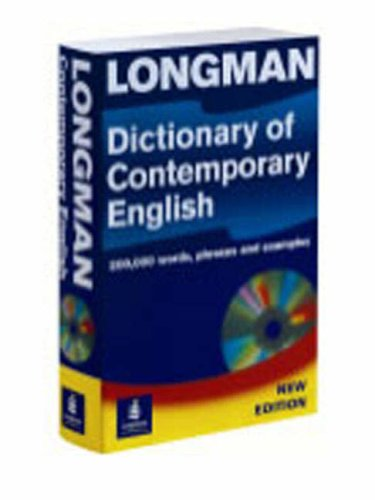 9780582506664: L Dictionary of Contemporary English 4th. Edition, Paper + CD-ROM Pack (Longman Dictionary of Contemporary English)