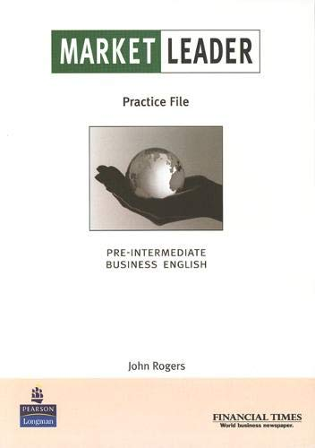 9780582507227: Market Leader Pre-Intermediate Practice File Book for Pack