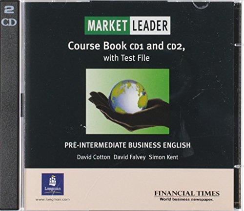 9780582507258: Market Leader. Pre-Intermediate Business English. 2 Class CDs