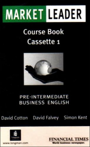 9780582507265: Market Leader: Pre-intermediate Class Cassettes (2): Business English with the