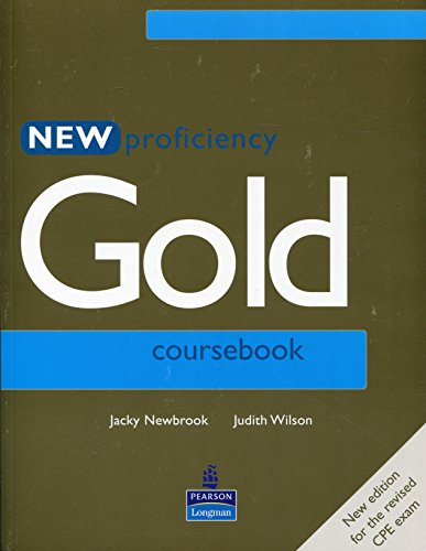 9780582507272: New Proficiency Gold Coursebook