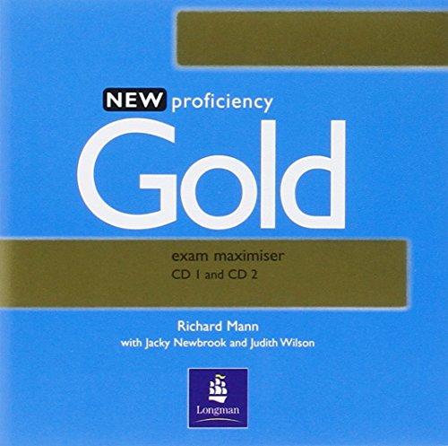 9780582507289: New Proficiency Gold Exam Maximiser CD 1 and CD 2