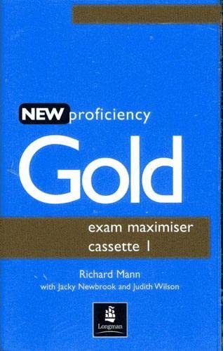 9780582507296: Proficiency Gold Exam Maximiser Cassettes (2) (for the revised CPE Exam)