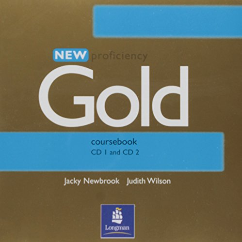 9780582507302: New proficiency gold course book CD1 and CD 2