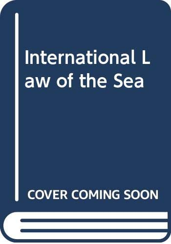9780582508125: International Law of the Sea
