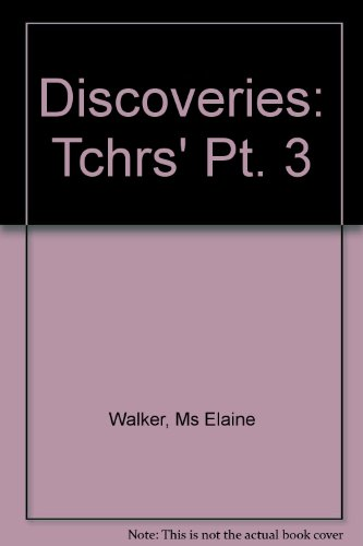 9780582514362: Discoveries Teacher's Book 3: Tchrs' Pt. 3