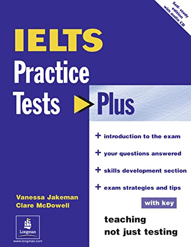 9780582514584: Practice Tests Plus IELTS With Key for Pack