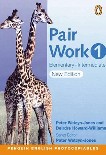 9780582514638: Pair Work 1: Elementary Intermediate (2nd Edition)