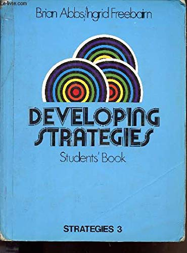9780582516274: Developing Strategies Students' Book