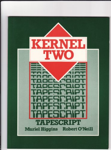 Kernel Two: Transcript: M. Higgins