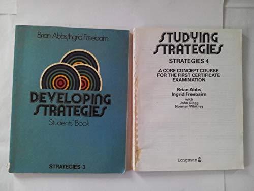 9780582516816: Strategies: Studying Strategies No. 4