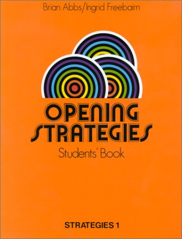 9780582516908: Opening Strategies : Students' Book (en anglais)