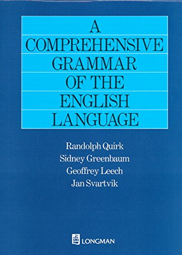 9780582517349: A Comprehensive Grammar of the English Language (General Grammar)