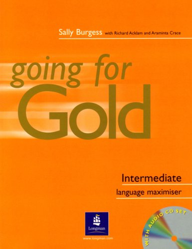 9780582518018: Going for gold. Intermediate. Maximiser. Without key. Con CD Audio. Per le Scuole superiori: Language Maximiser: Maximiser (No Key) and Audio CD