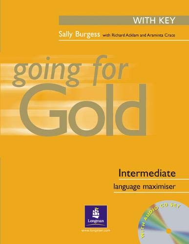 9780582518049: Going for Gold Intermediate Language Maximiser