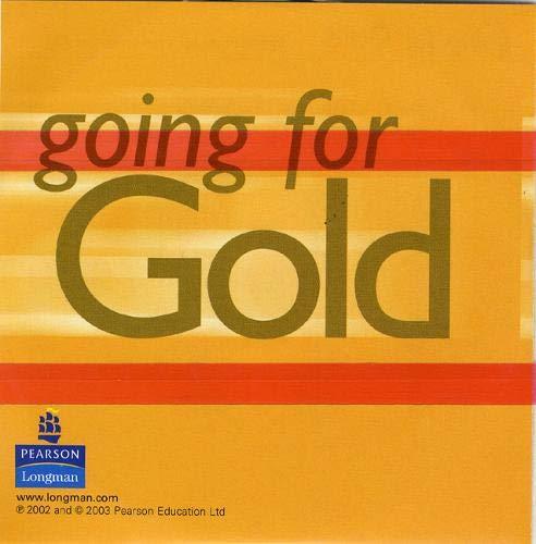 9780582518056: Going for Gold Intermediate Language Maximiser CD