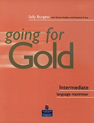 9780582518070: First Certificate Gold: Intermediate Language Maximiser Without Key (Gold)